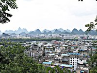Guilin. Seven Peak park